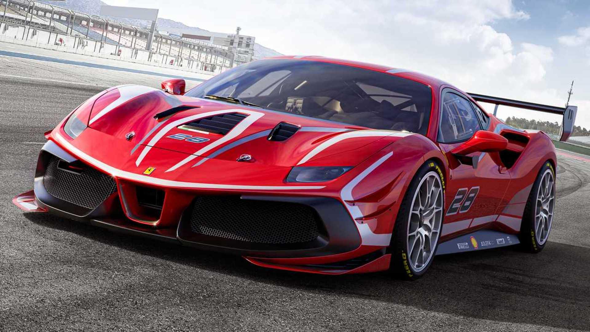 Ferrari 488 Gtb Challenge Supercars Gallery
