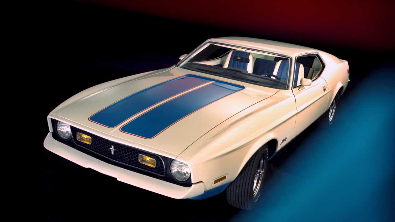 Ford Mustang sportsroof 1972