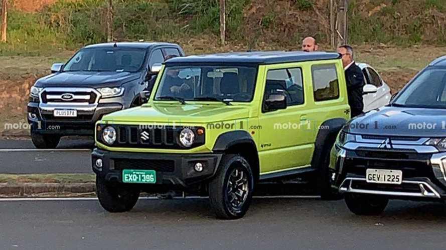 Flagra: Novo Suzuki Jimny Sierra está pronto para o lançamento nacional