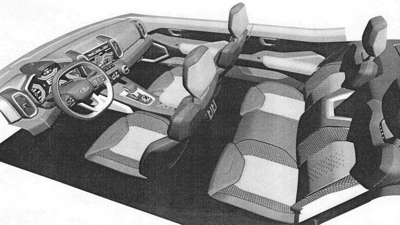 Интерьер Lada Vision 4x4: патентные изображения