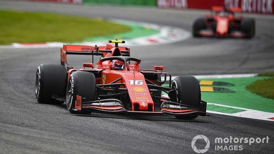 2019 İtalya GP: En tuhaf sıralamalarda pole pozisyonu Leclerc'in!