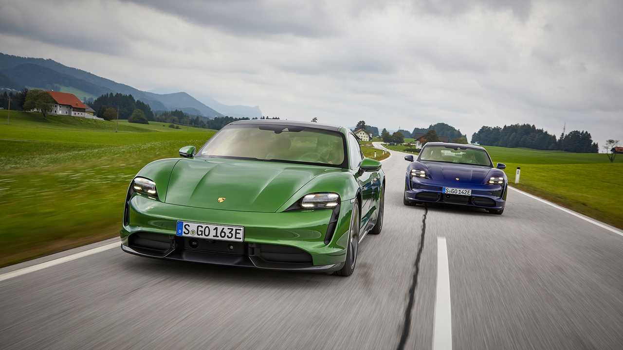 Recem Lancado No Brasil Taycan Ja E O Mais Vendido Da Porsche Na Europa