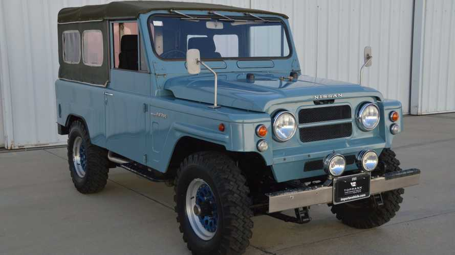 Take On Adventure In A 1980 Nissan Patrol Long