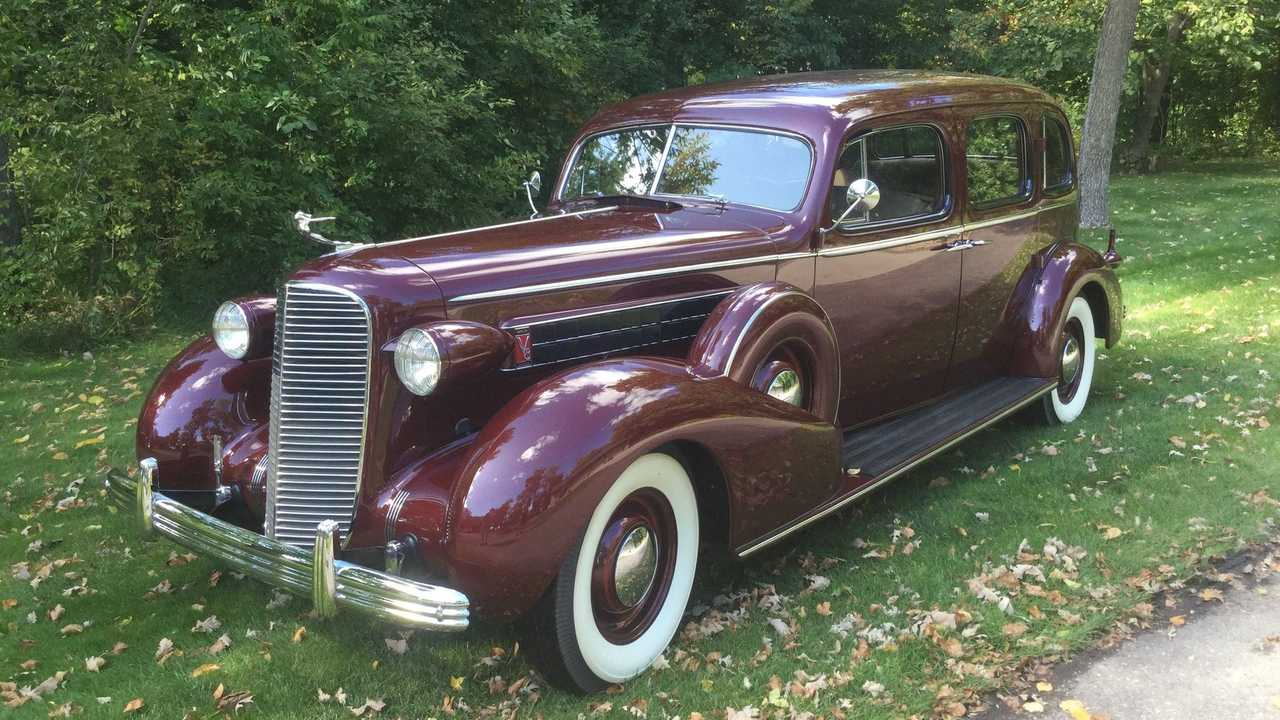 Cruise In Style With This Restored 1936 Caddy 7523