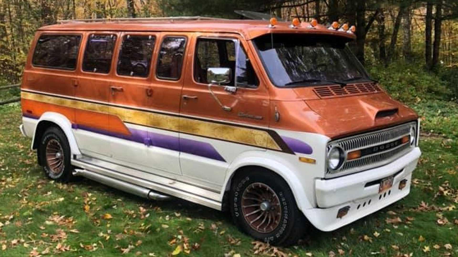 Van Life Would Be Groovy In Restored Ram Van From The Seventies