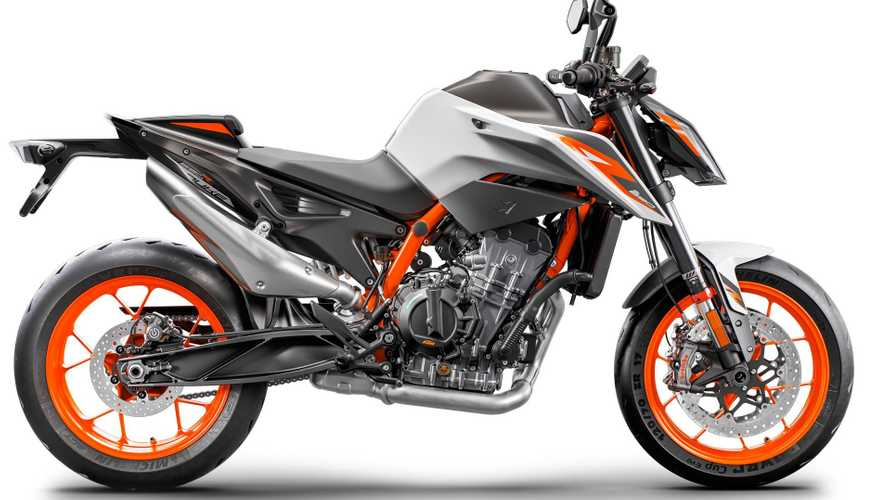 KTM Rolls Out Aggressive New 890 Duke R at EICMA 2019