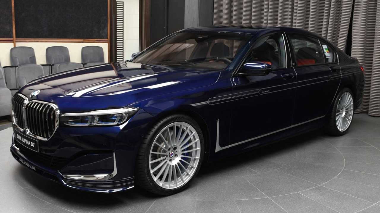 Alpina B7 2020 de BMW Abu Dhabi Motors