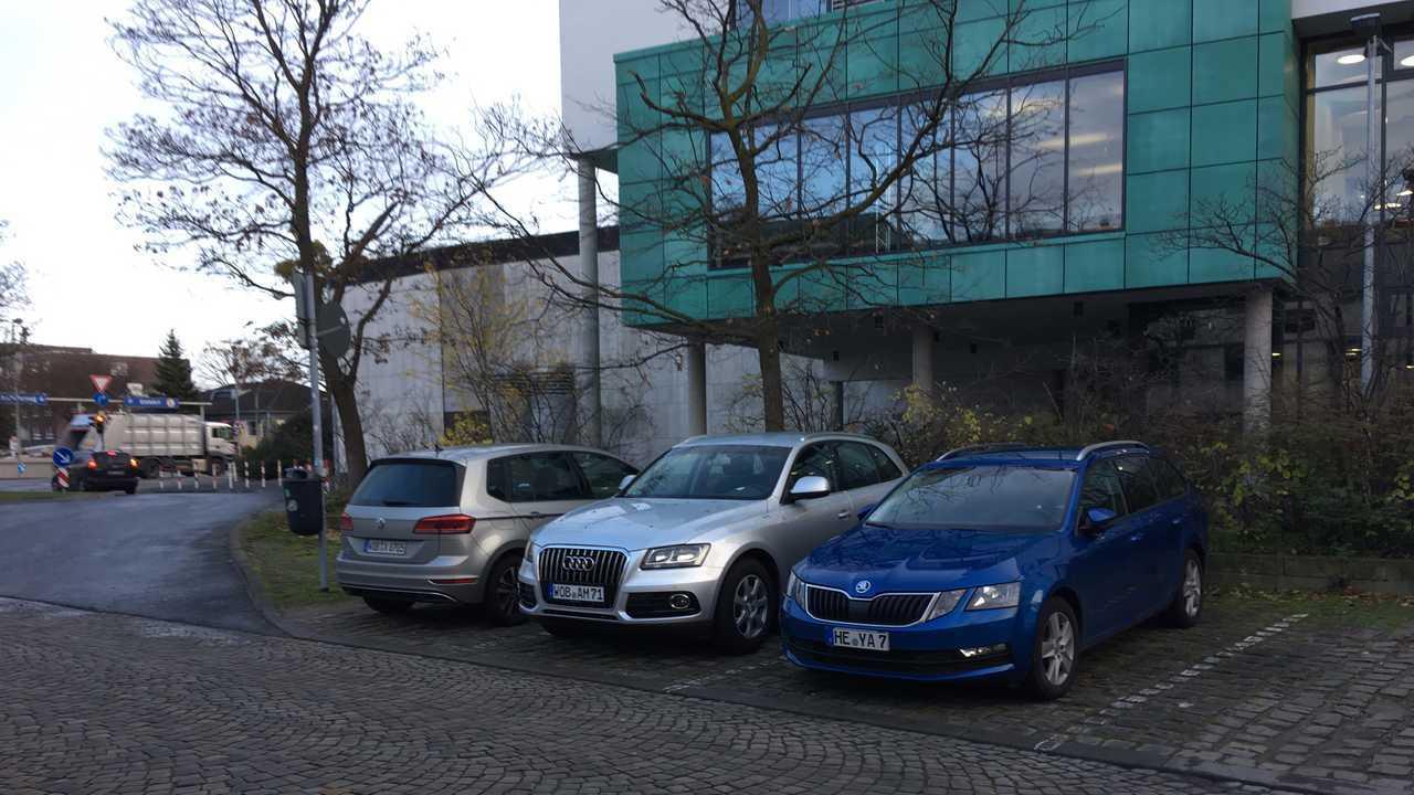 Audi Q5 и Skoda Octavia
