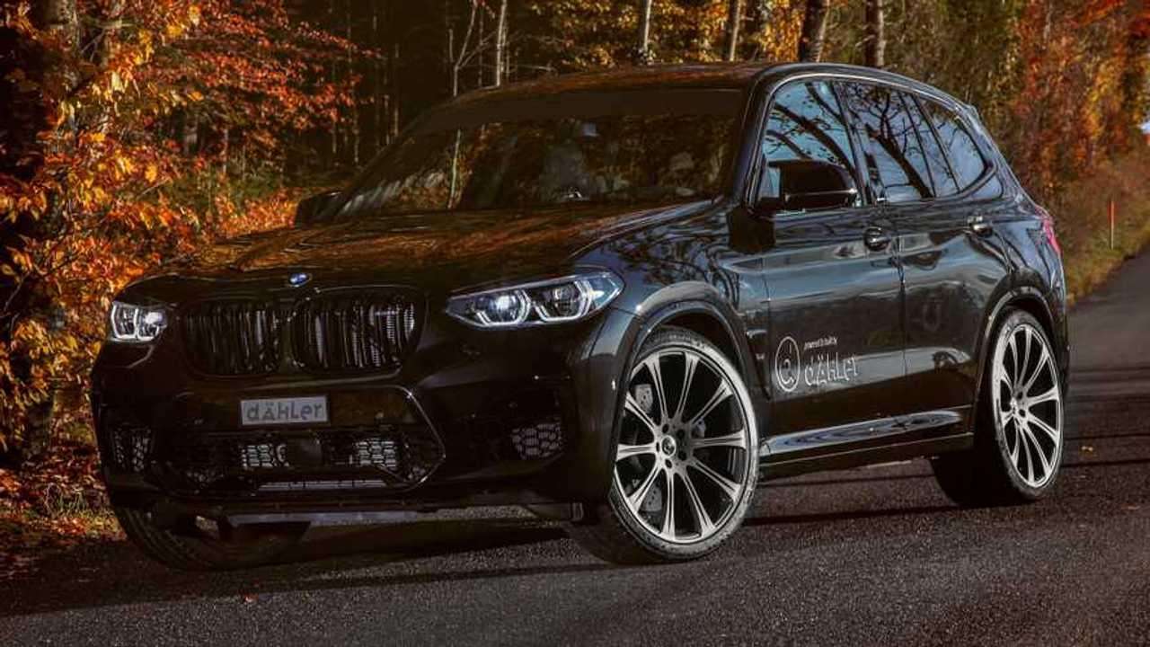 BMW X3 M by Dahler lead image