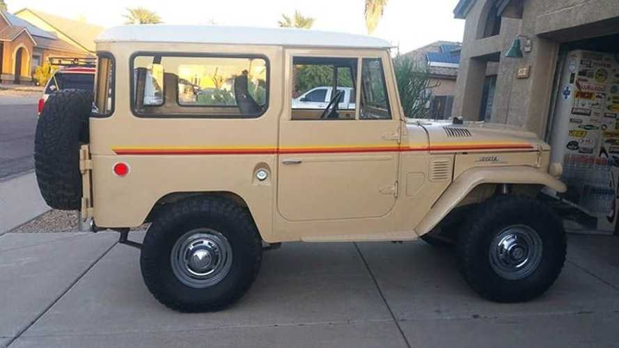 The Perfect First Toyota FJ40 Is This 1966 Land Crusier
