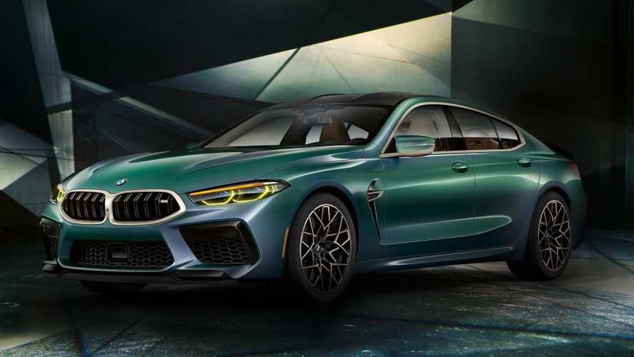 Рассекречены рублевые цены на четырехдверную BMW M8 Gran Coupe
