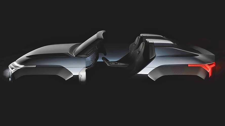 Mitsubishi Mi-Tech, il teaser del SUV compatto con la turbina