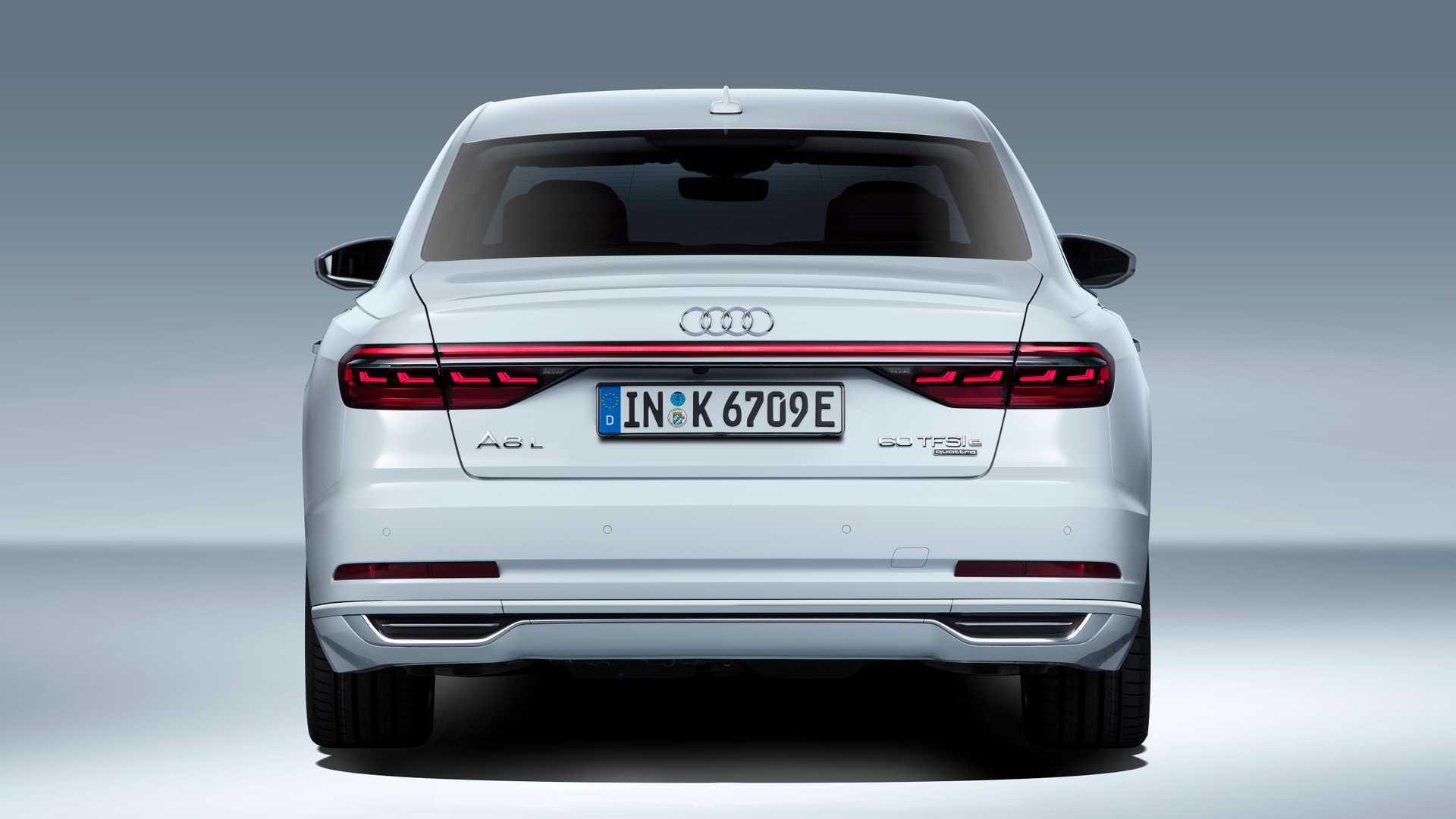 Audi A8 line-up adds plug-in hybrid 'e quattro'