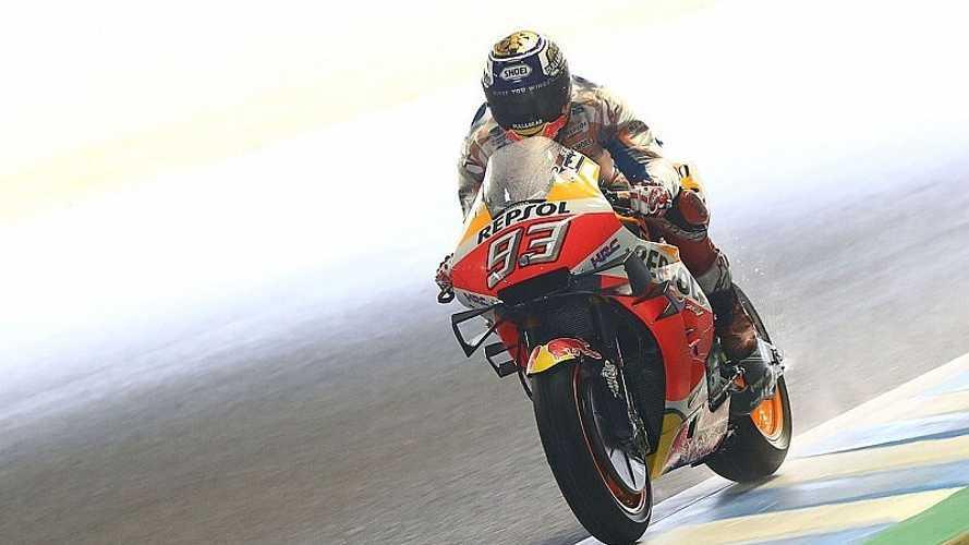 Márquez se hace con su décima pole del curso en Motegi