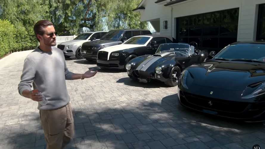 Scott Disick's Home Features An Impressive Car Collection