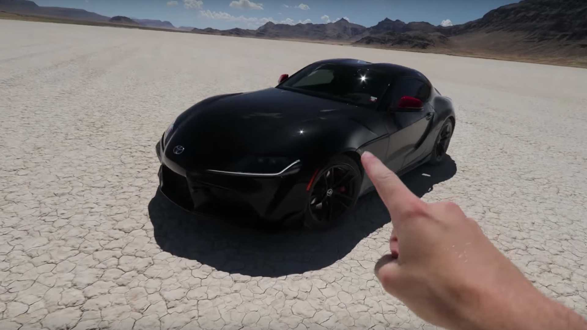 Toyota Supra 2020 Max Speed