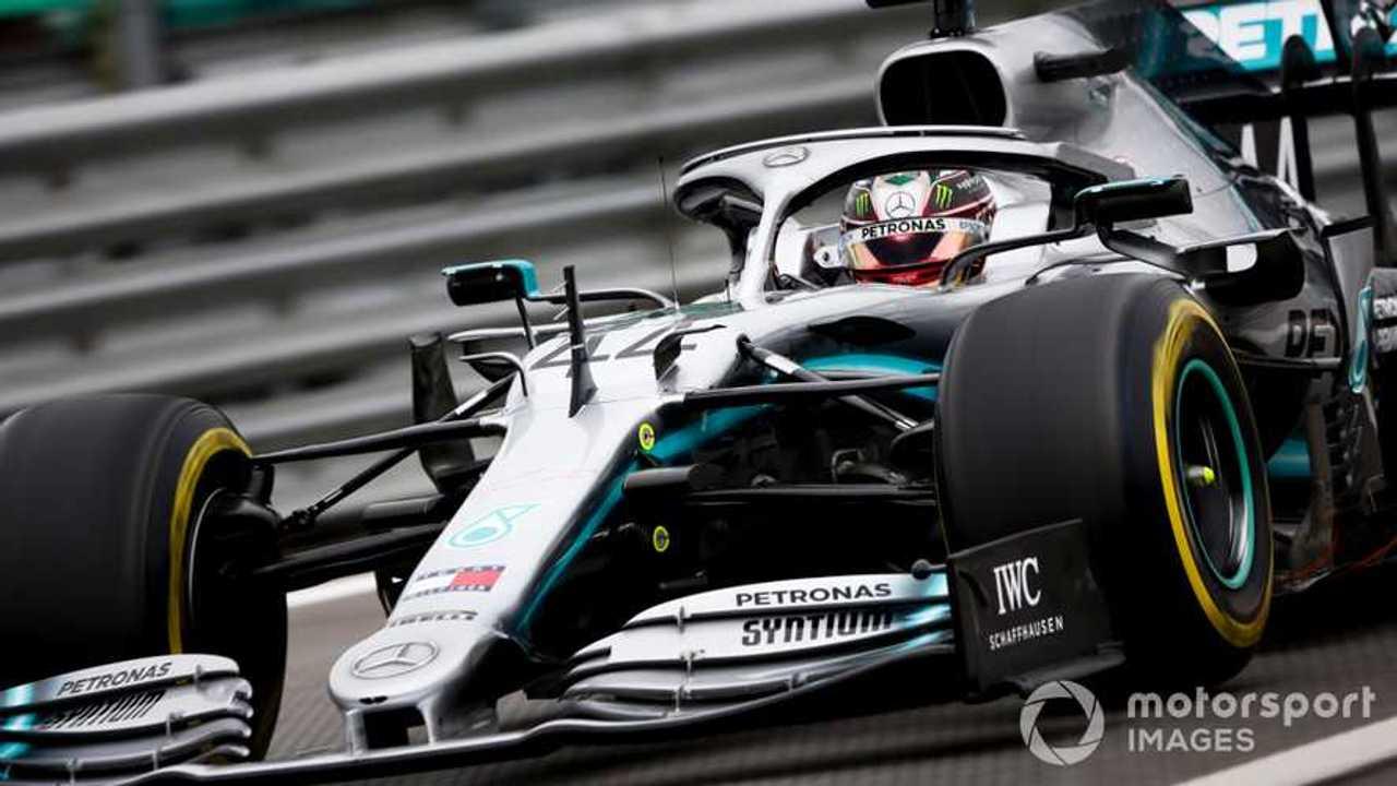 Lewis Hamilton at Brazilian GP 2019