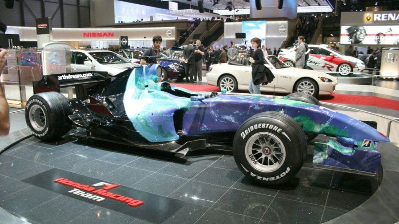 Honda's Environmental F1 Car Concept