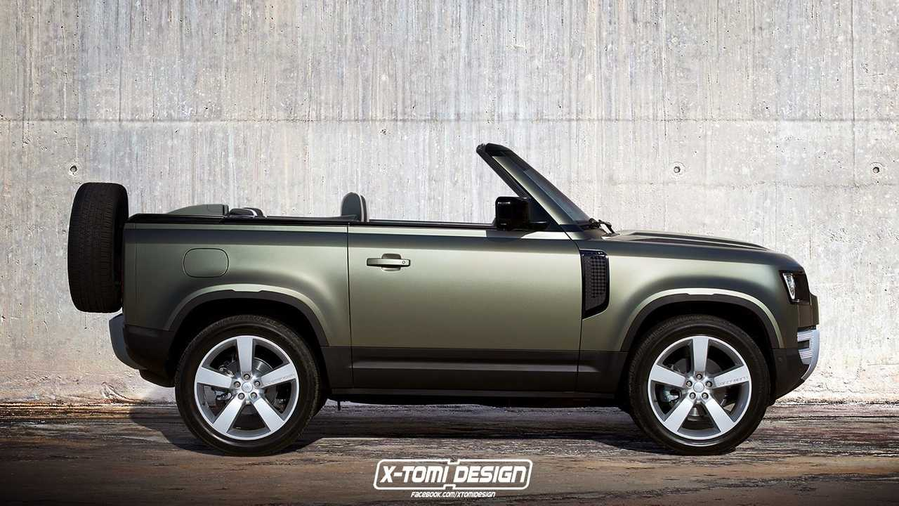 Land Rover Defender convertible