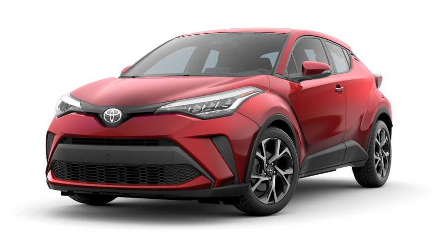 Toyota C-HR Crossover Gets A Touch-Up For 2020