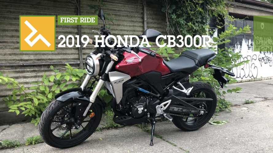 First Ride: 2019 Honda CB300R