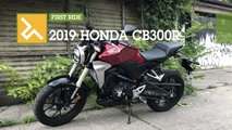 first ride 2019 honda cb300r