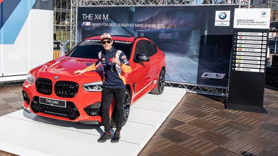 Marc Marquez a vb-cím mellett egy BMW X4 M Competition-t is bezsebelt