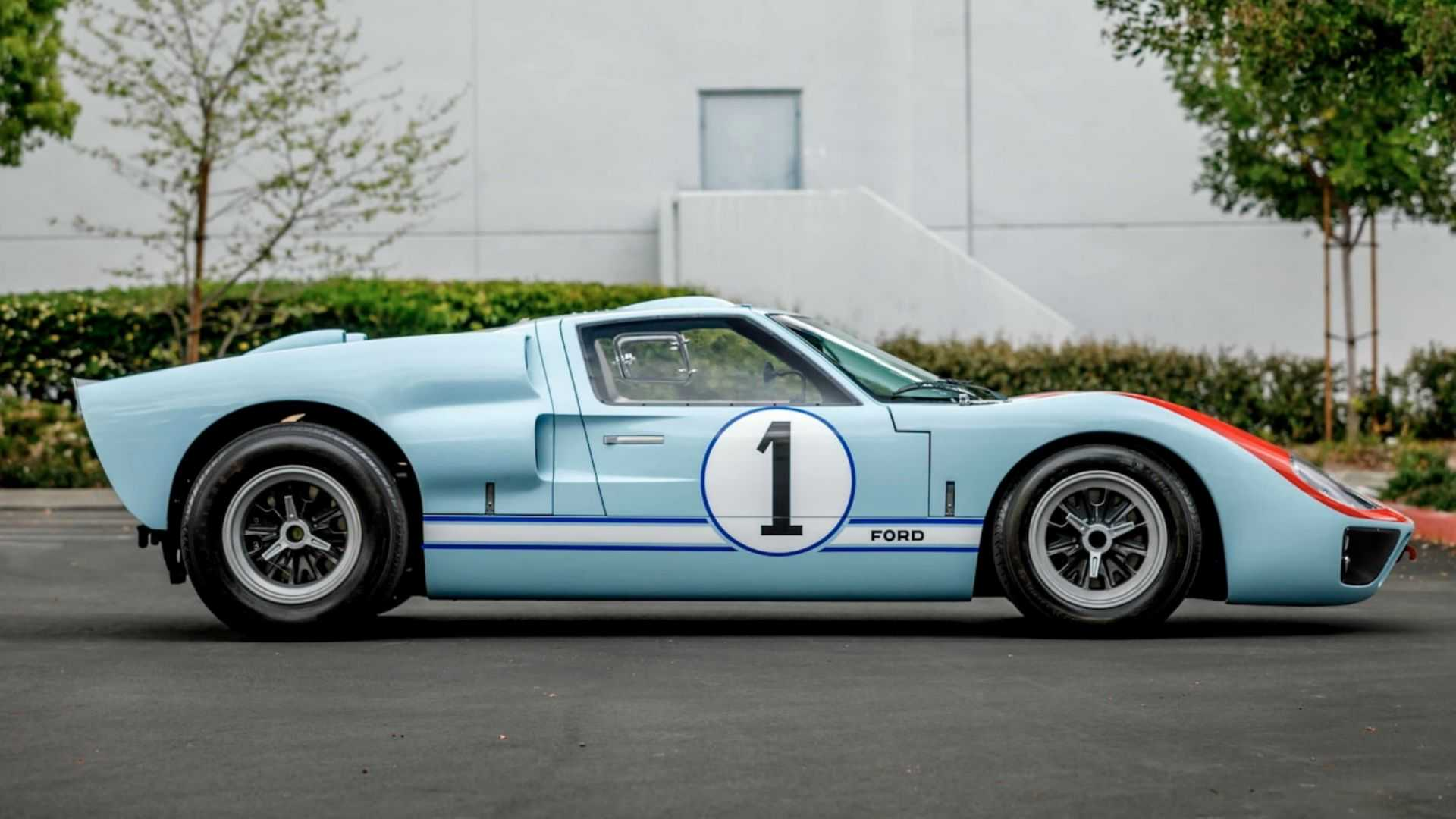 "[""Own Ken Miles Hero GT40 MKII From 'Ford v Ferrari'""]"