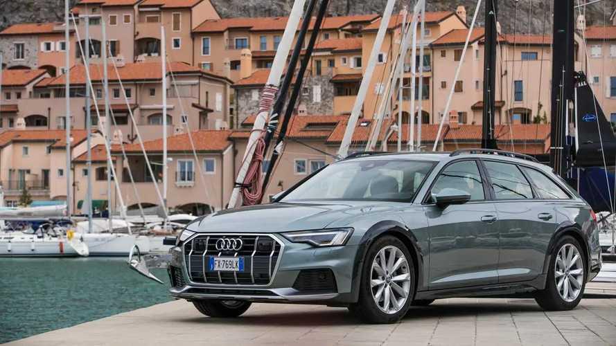 Audi A6 Allroad, la prova su strada