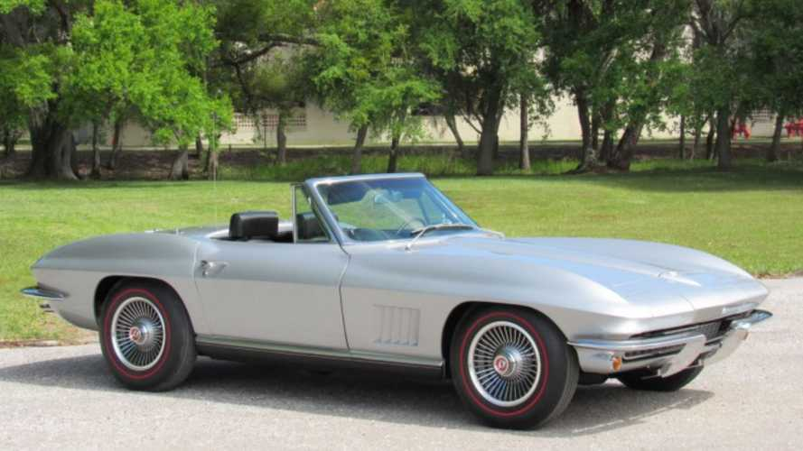 Step Up Your Game With A 1967 Chevy Corvette Convertible