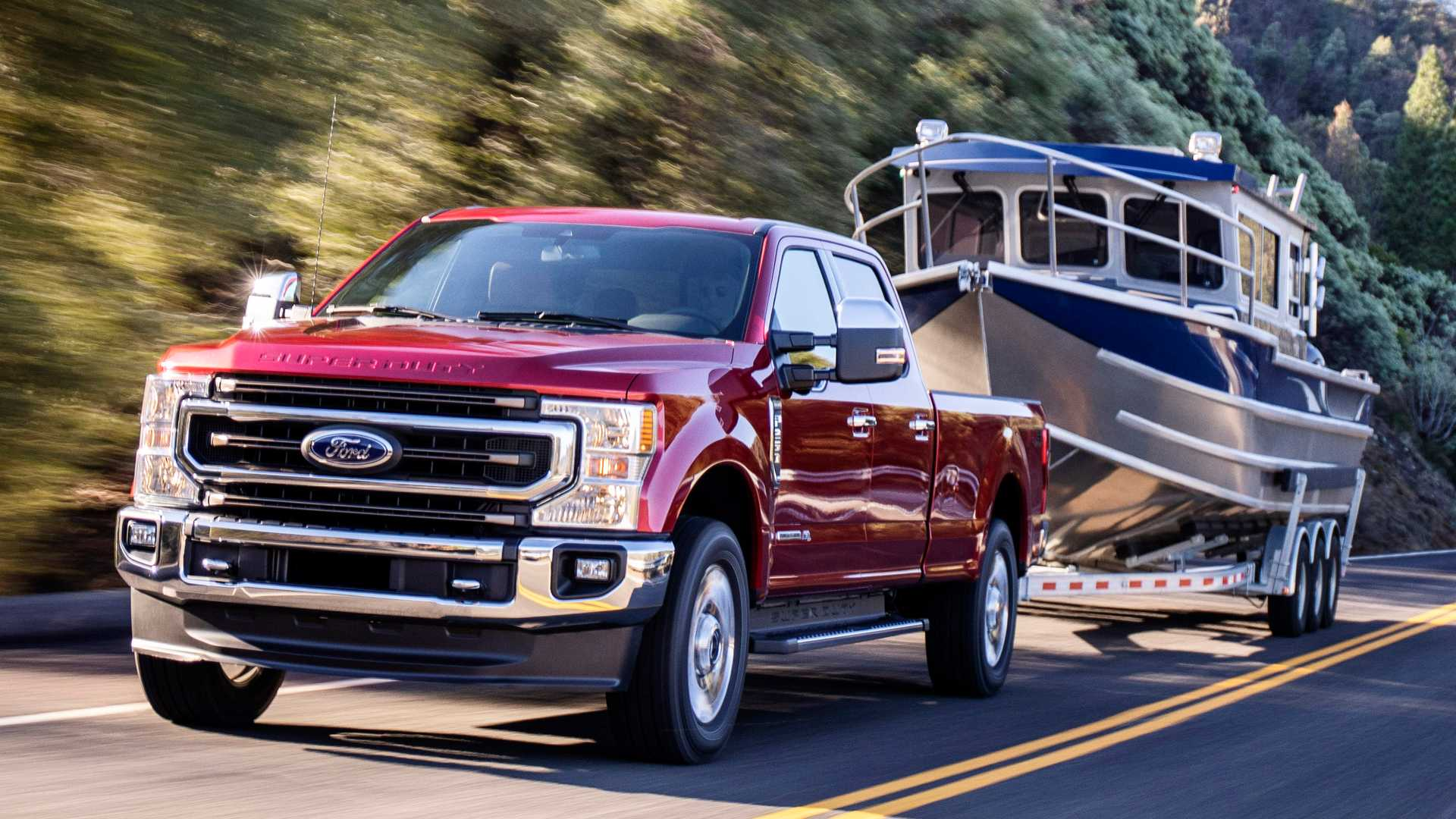 Louisville Truck Show 2020.2020 Ford F Series Super Duty Can Tow Up To 37 000 Pounds
