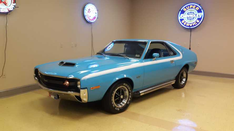 1970 AMC AMX Primed To Start Bidding War