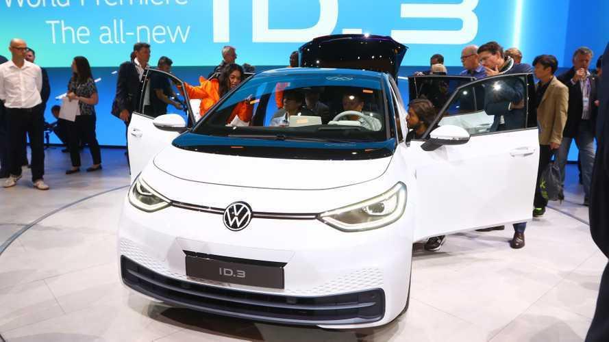 Volkswagen на автосалоне во Франкфурте 2019