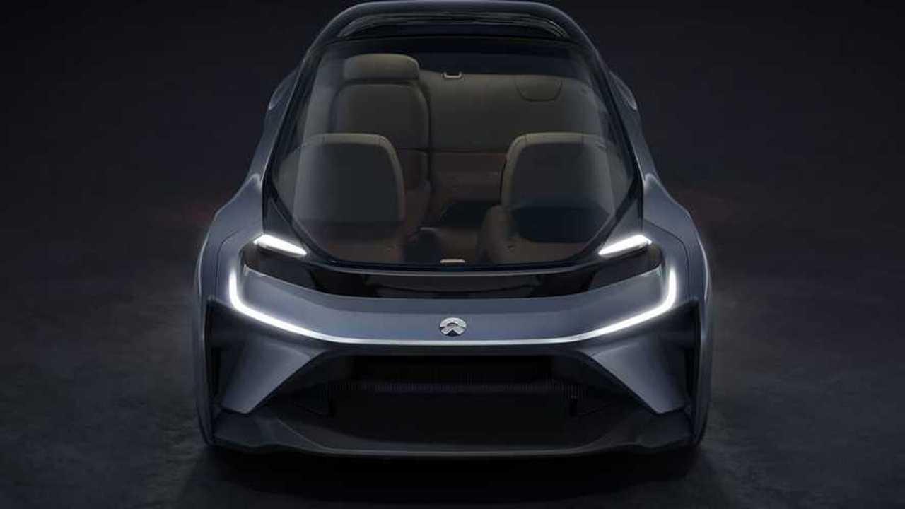 Стартап NIO представил беспилотный электромобиль для рынка США