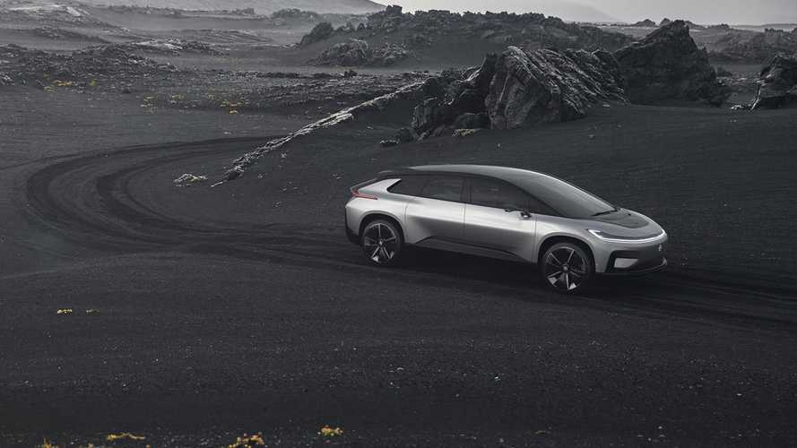 Faraday Future поспорит с Tesla в гонке Pikes Peak