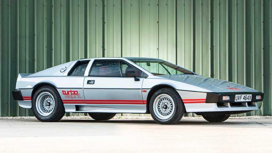 El Lotus Esprit Turbo de Colin Champman está a la venta