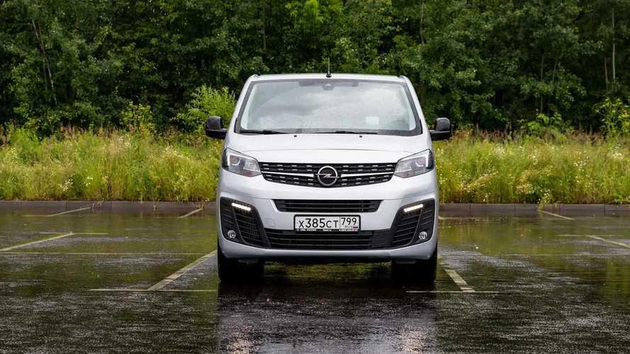 Opel Zafira Life – едем и едим