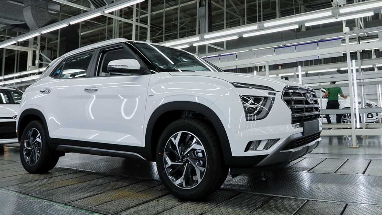Novo Hyundai Creta - Fábrica