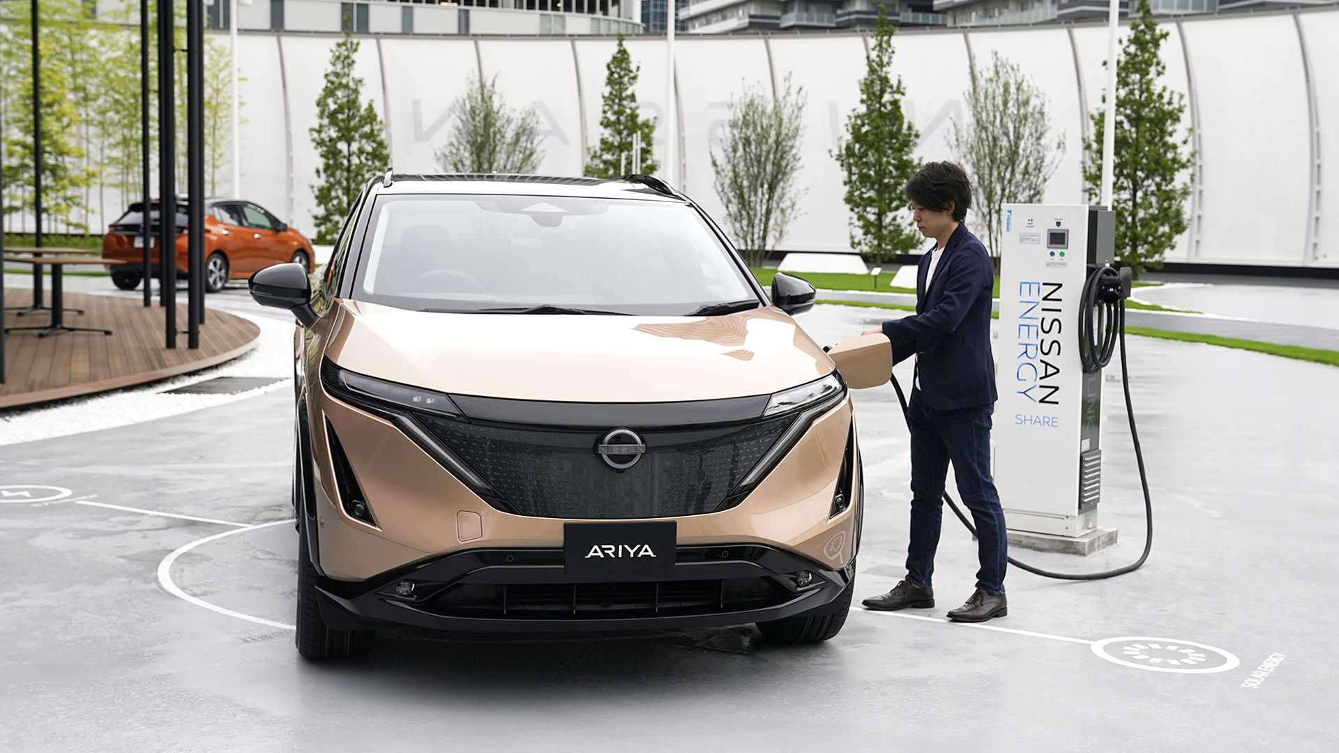 Nissan Leaf Ariya Could Be Joined By Larger Electric Suv