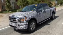 2021 Ford F-150 new spy photos