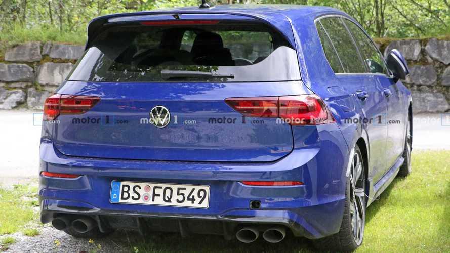 Volkswagen Golf R 2020, fotos espía