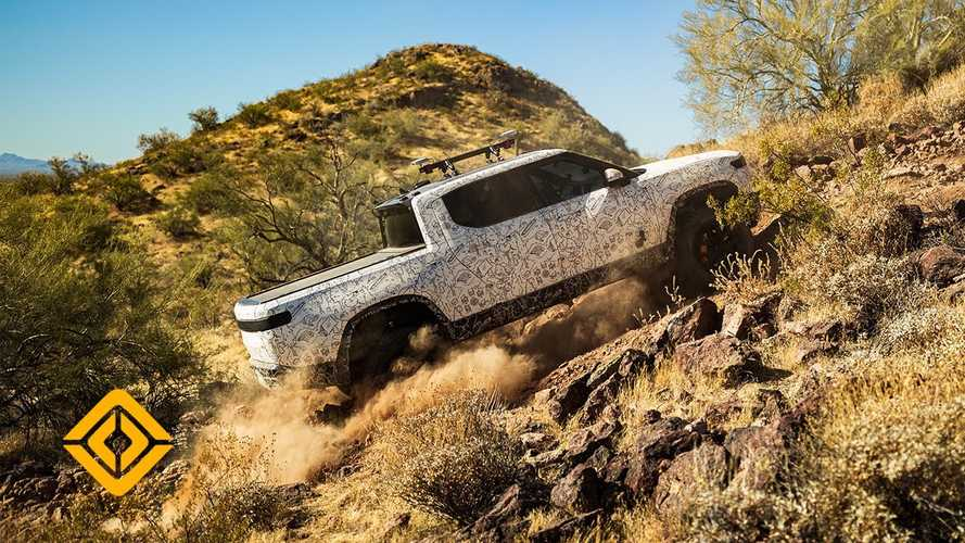 Rivian Releases 4 New Videos Showcasing R1T Truck's Incredible Performance