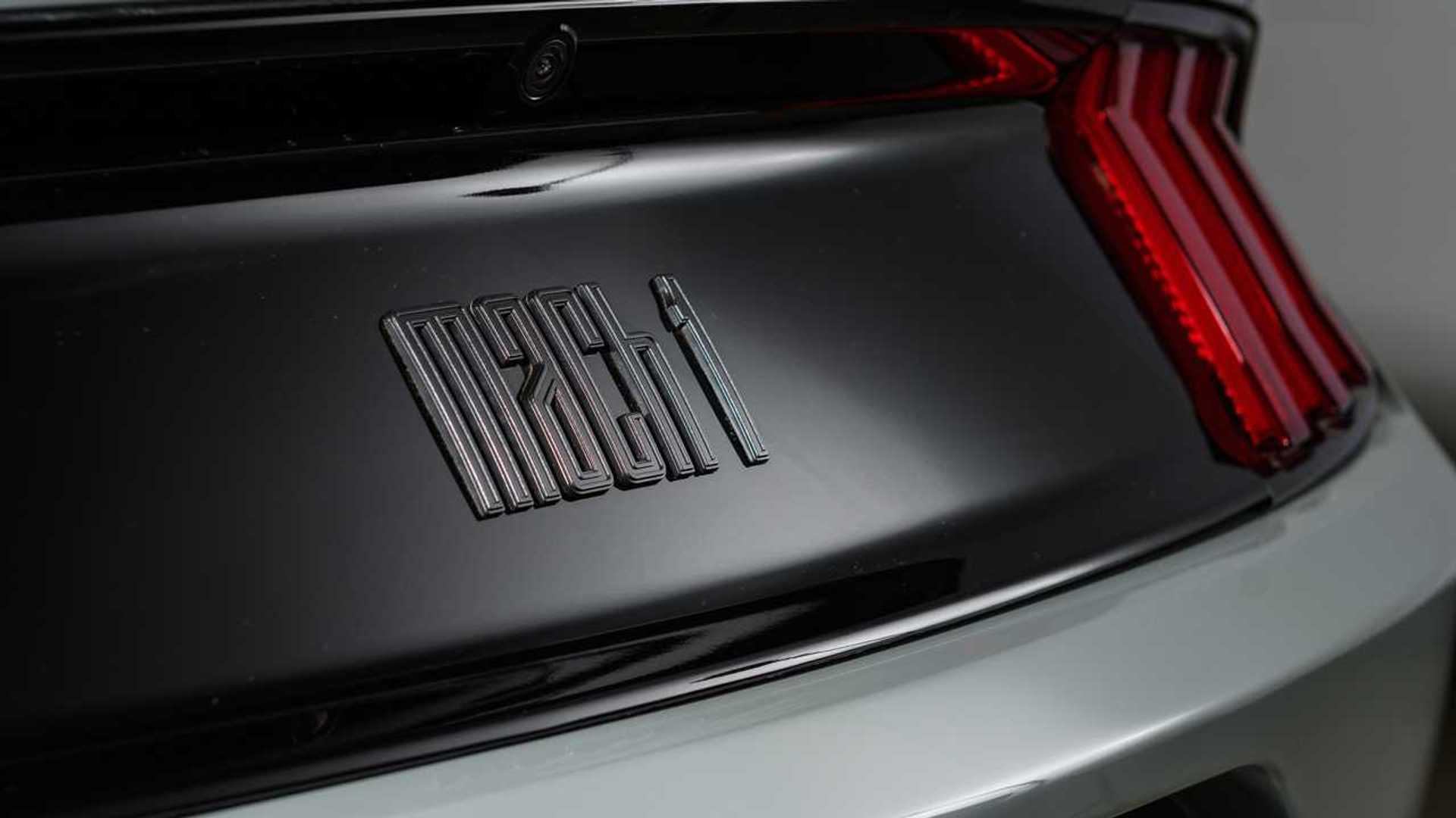 Descubre el nuevo logotipo del Ford Mustang Mach 1 2021