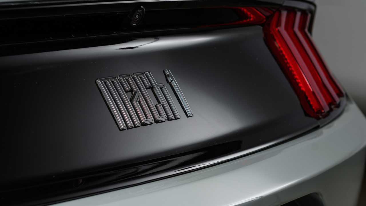 2021 Ford Mustang Mach 1 logo design