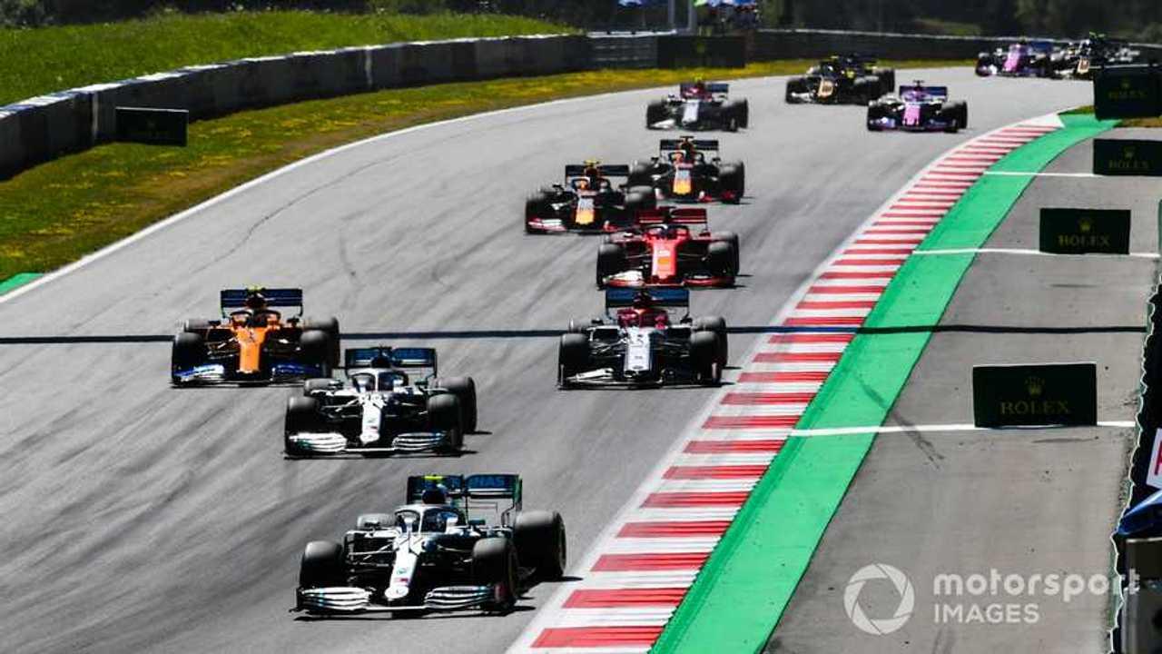 Valtteri Bottas leads Austrian GP 2019