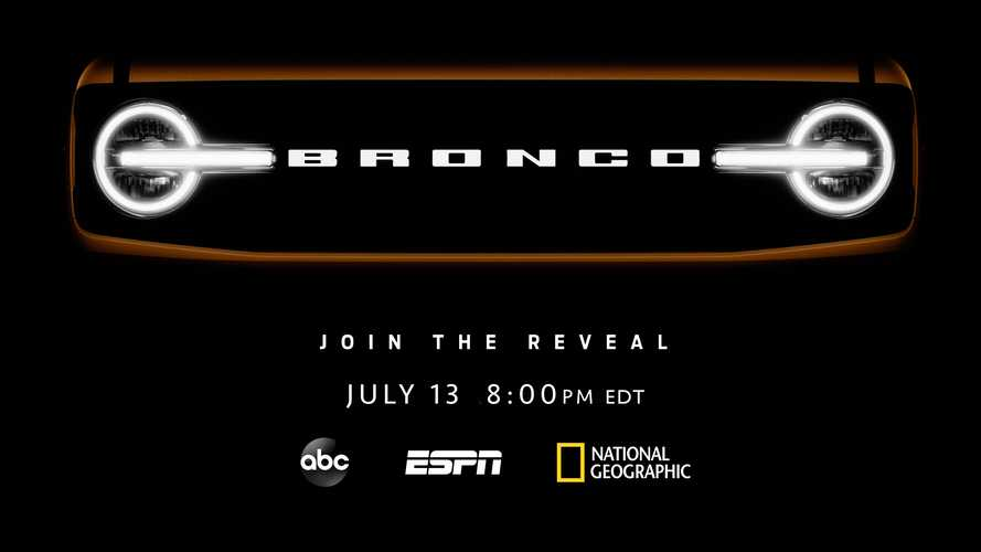 How To Watch The 2021 Ford Bronco Debut On July 13