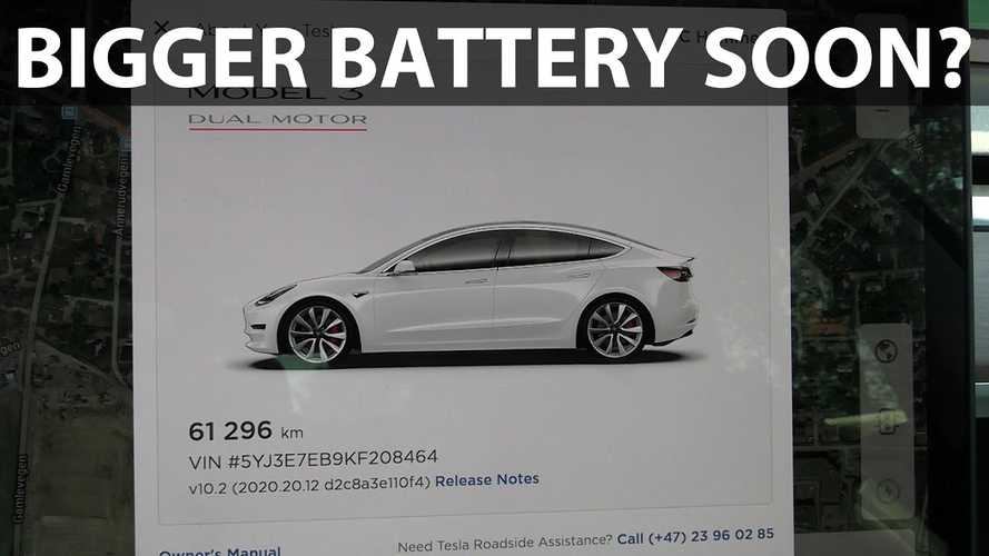 Tesla reportedly updates software for future 205-kWh max battery size