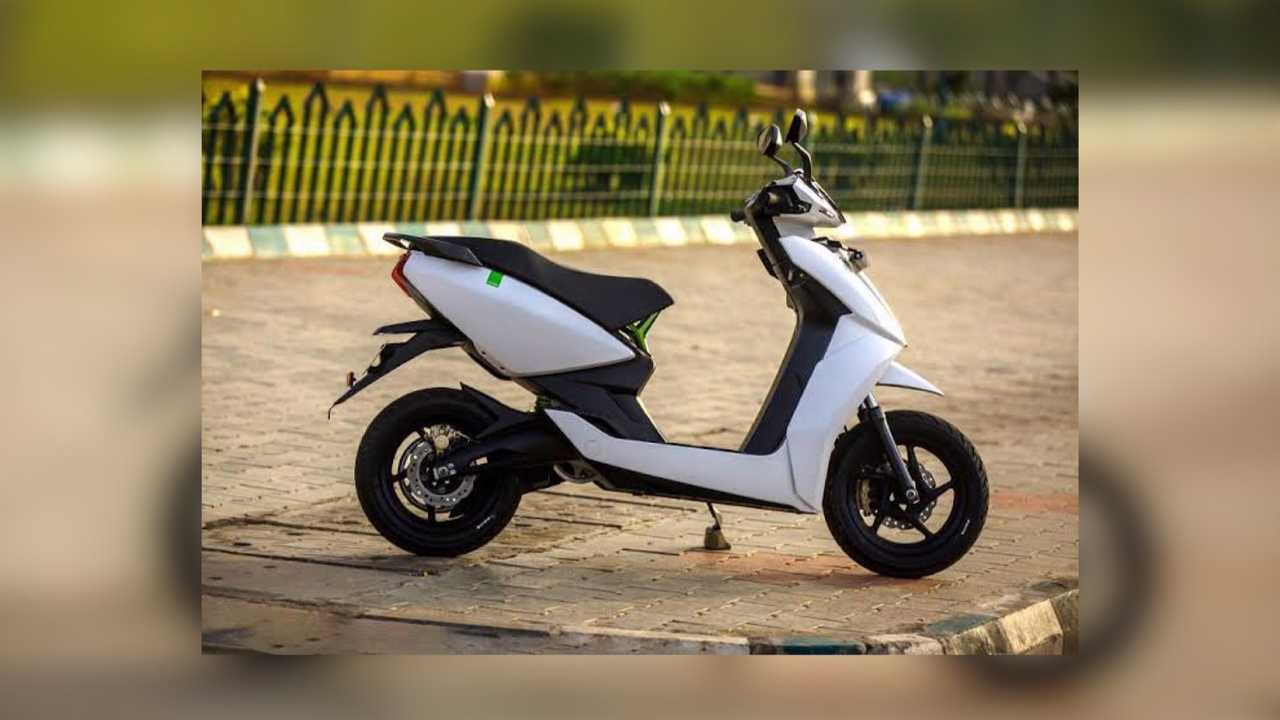 Going Green? Trade In Your Gas Powered Ride For An Ather 450 Electric Scooter
