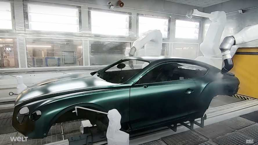 Here's what it takes to build the Bentley Continental GT W12