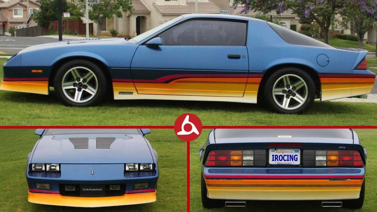 This rad Chevrolet Camaro IROC-Z is so 1980s it hurts